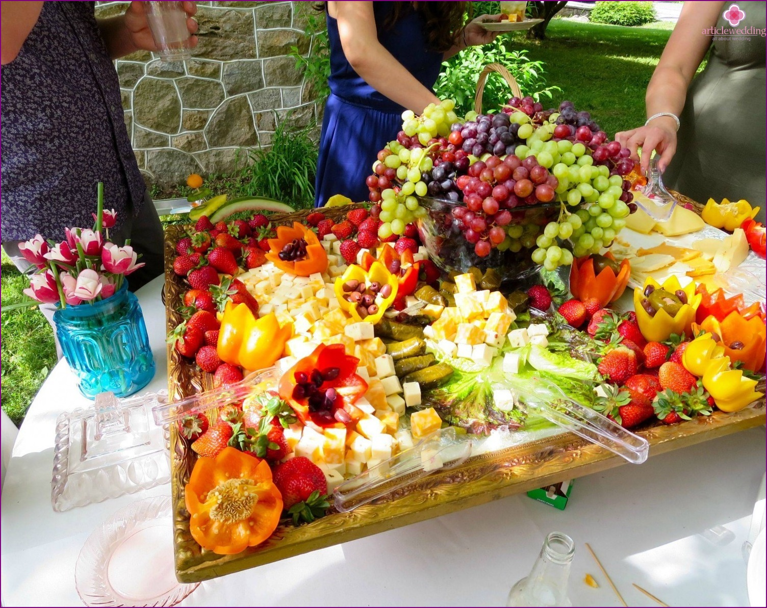 Fruit Bar Ideas wedding bar: views and ideas