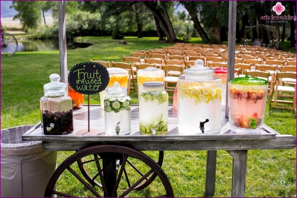Wedding bar views and ideas Good fruity drinks to get at a bar