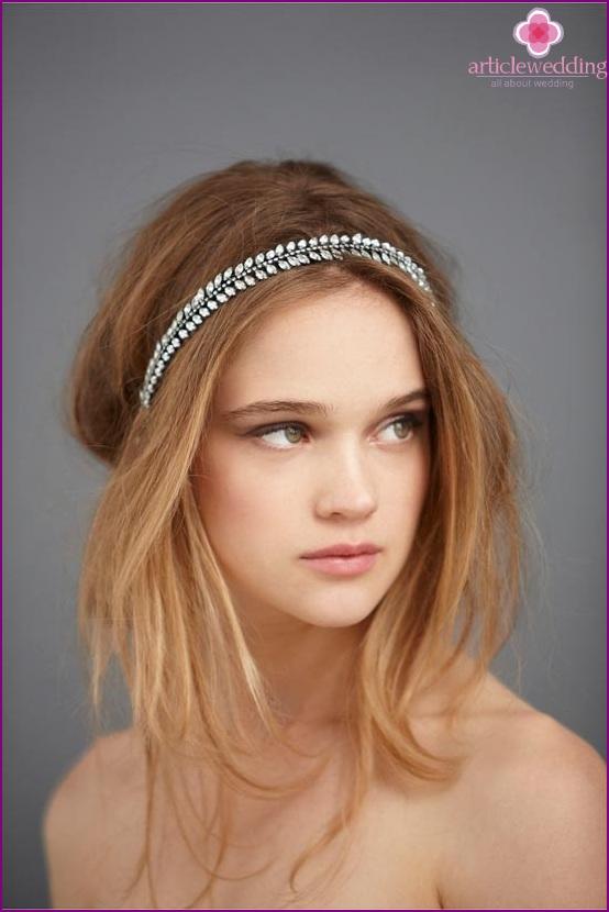 Bride Hair Hoop