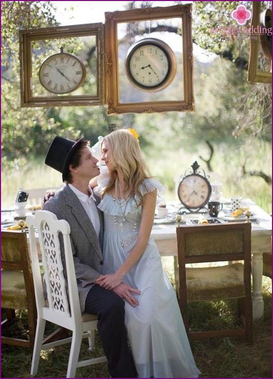 Wedding Alice in Wonderland