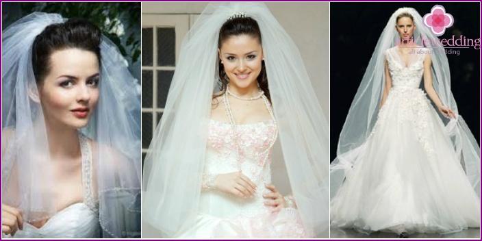 Lush bridal veil
