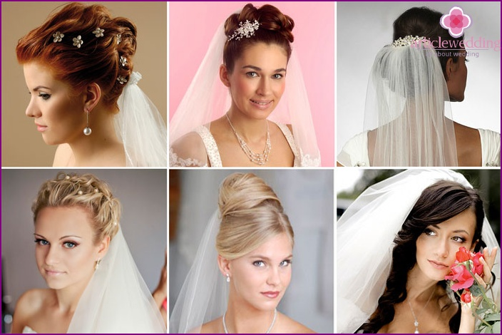 Which fabric to choose bridal headdress