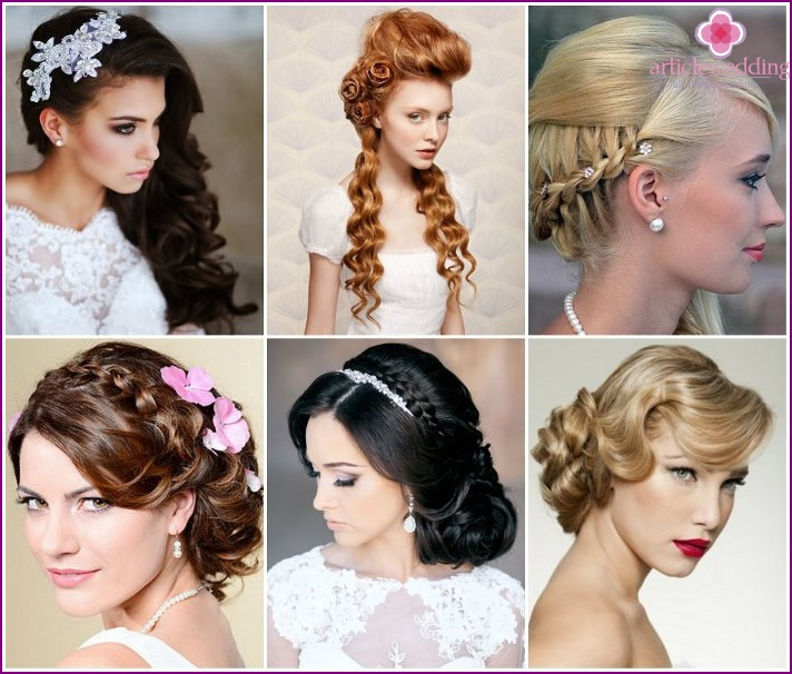 Long wedding hairstyles popular in 2015