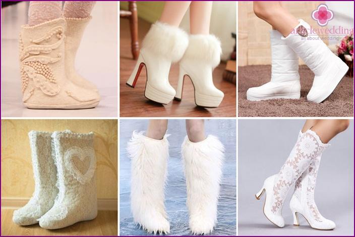 Zimowe Buty ślubne Jak Wybrać Obcasy Lub Bez Niego Opcje Butów Na