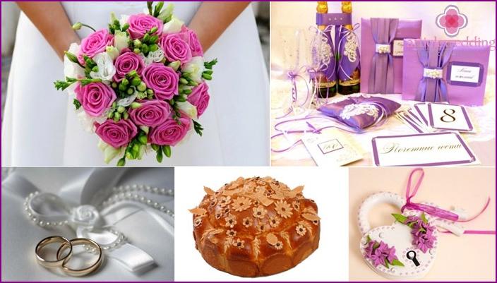 Attributes wedding