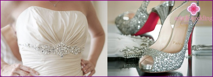 Wedding dresses with sequins