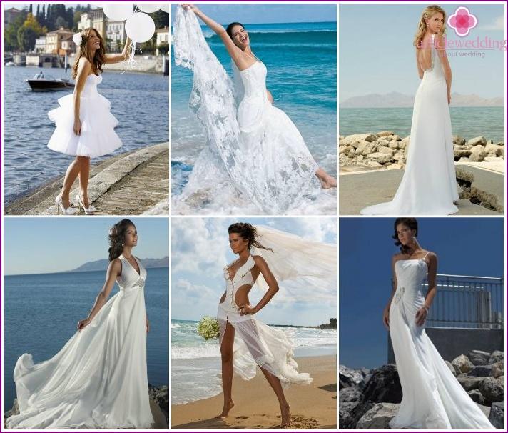 Пляжные Свадебные Платья Купить В Москве