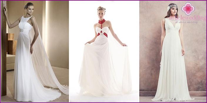 Vestito da sposa greco migliore collezione inspiration for Design in stile romano