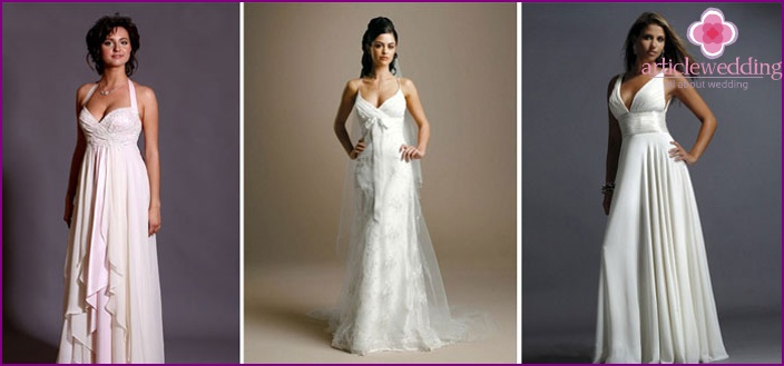 story accentuate small breasts wedding dress style tips