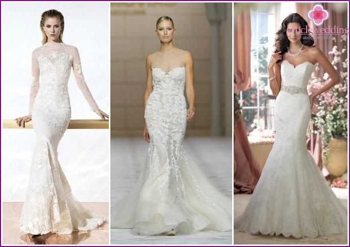 Fashionable wedding dresses 2015