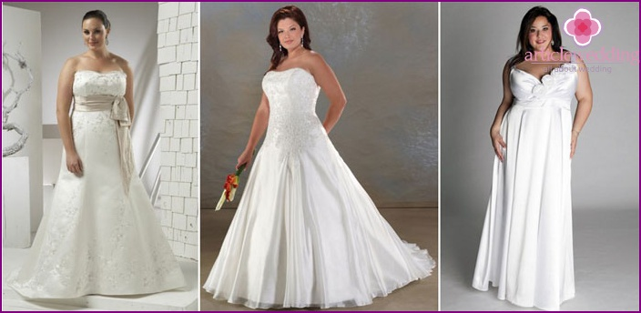 Wedding dresses for large breasts high cut wedding dresses for Wedding dresses for big busted women