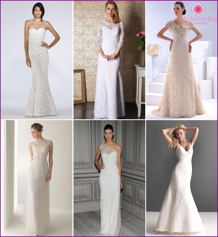 Dress-holder for wedding