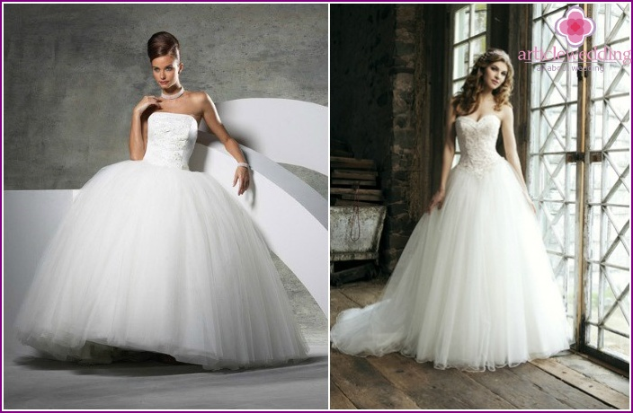 Wedding Dresses Ball type: Photo