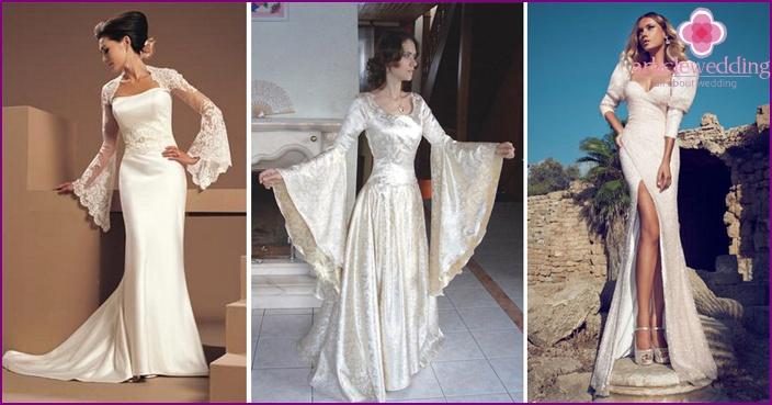 Hochzeitskleid mit langen Ärmeln 2015 populäre Modelle für Bräute ...