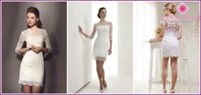 Lace wedding dresses handmade