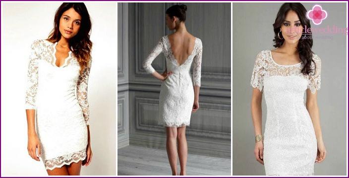 Платье кружевное своими руками