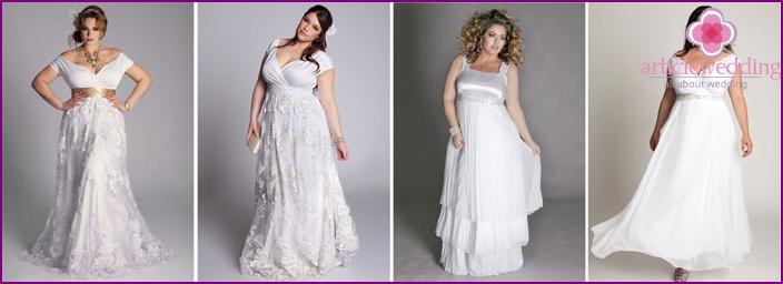 Hochzeitskleid im griechischen Stil für das Gesamt - Mode-Modell ...