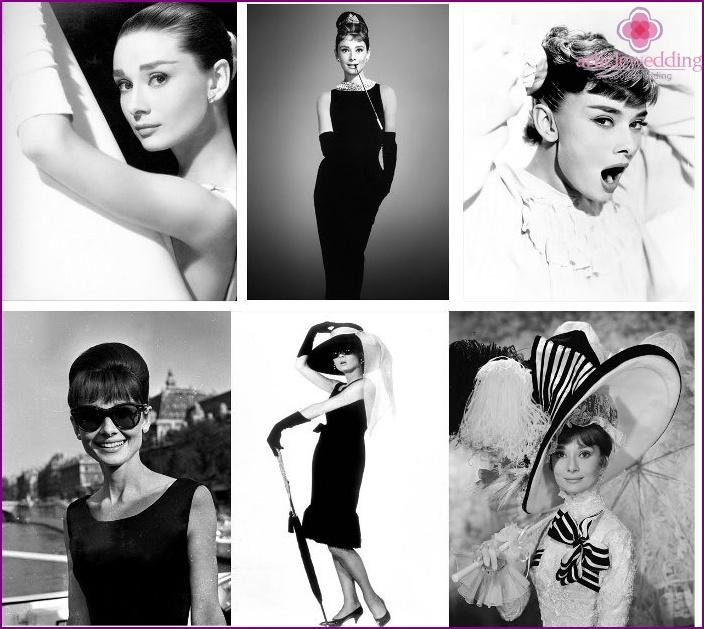 Style icon Audrey Hepburn