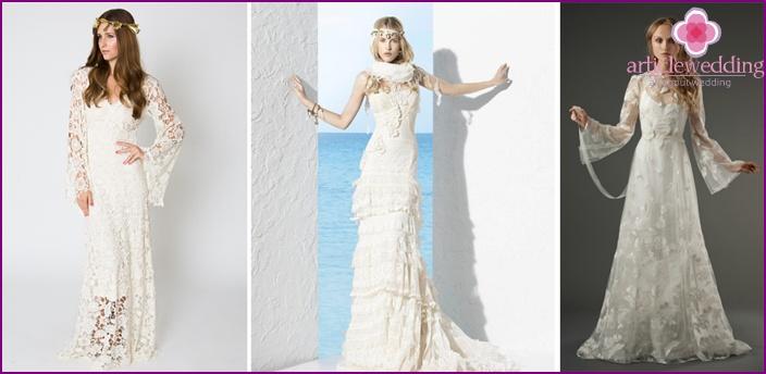 Svatebni Saty Ve Stylu Boho Tipy Na Vybirani Popularni Modely A