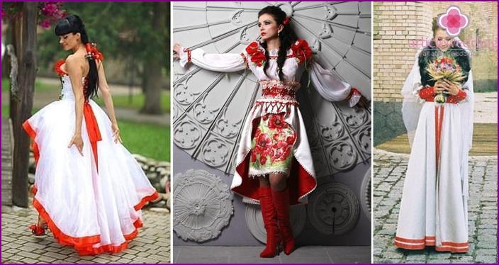 Modèles de mariées russes