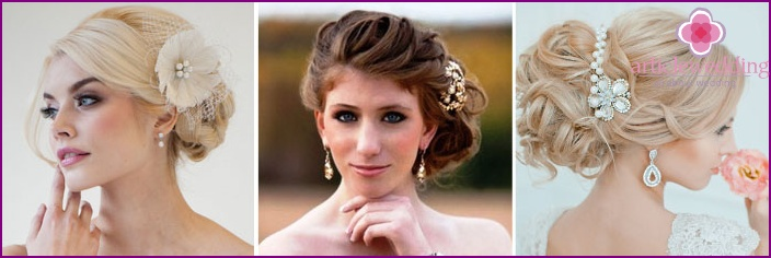 Ideas original wedding hairstyles