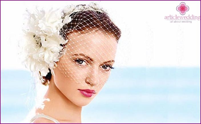 Fata veil for the bride