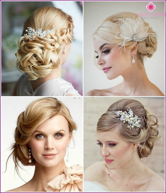 Hairstyles with hair pin