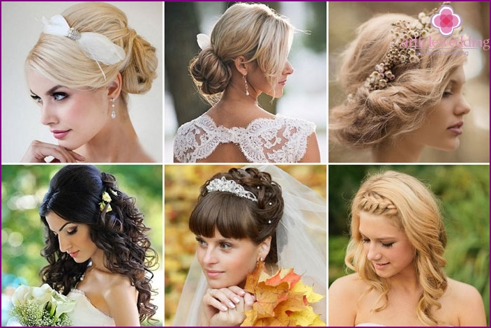 Photo simple wedding hairstyles