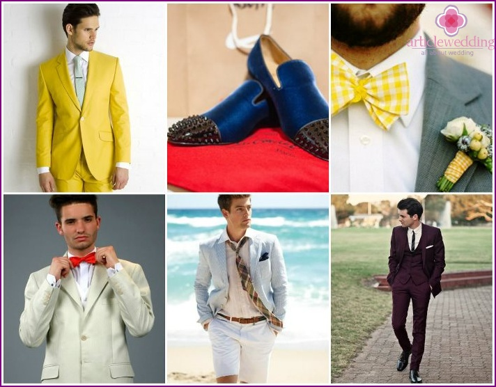 Trends 2015: the wedding men's fashion
