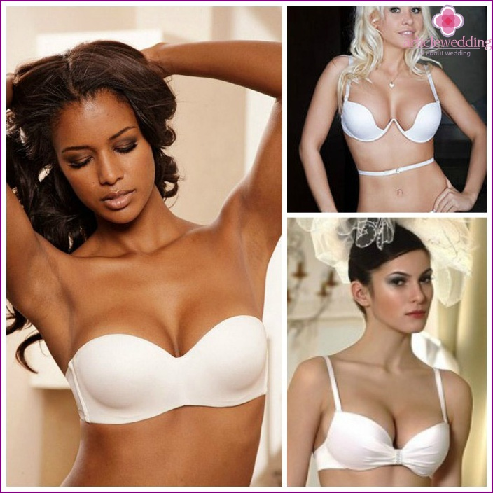 Variants of bra for cleavage