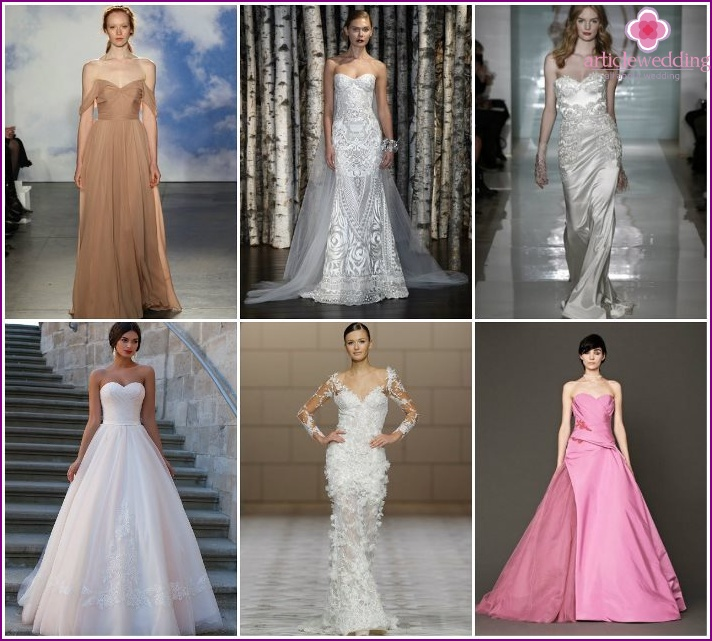 Fashion romantic wedding dresses in 2015