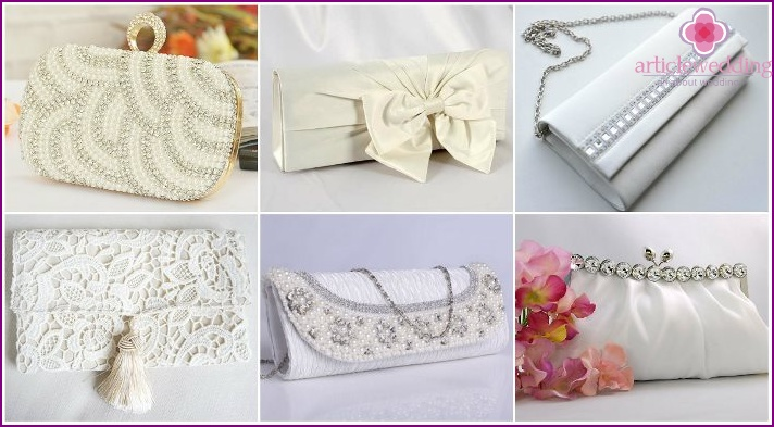 Wedding clutches for the bride