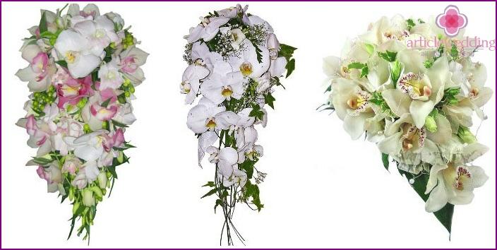 Wedding Bouquet: Orchids