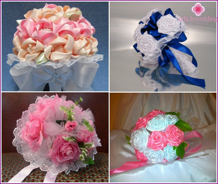 Wedding bouquets doubles