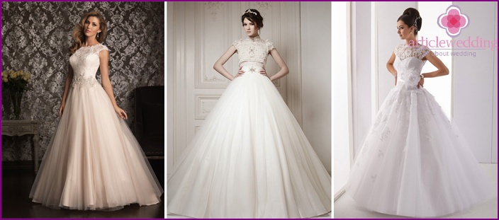 Lush closed Wedding Dresses