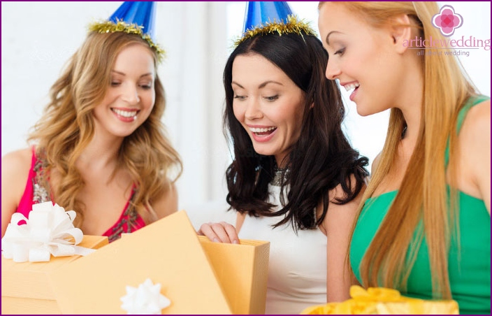 Practical bride will appreciate the useful gifts for bachelorette party