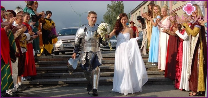 Armor as the hilarious details for the bride price