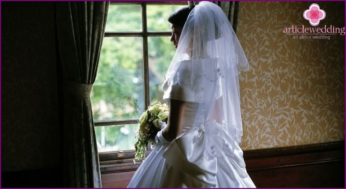 Bride waiting to be redeemed