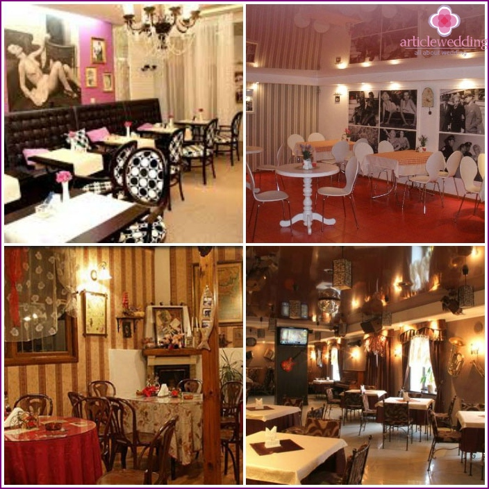 Retro Cafe for a bachelorette party