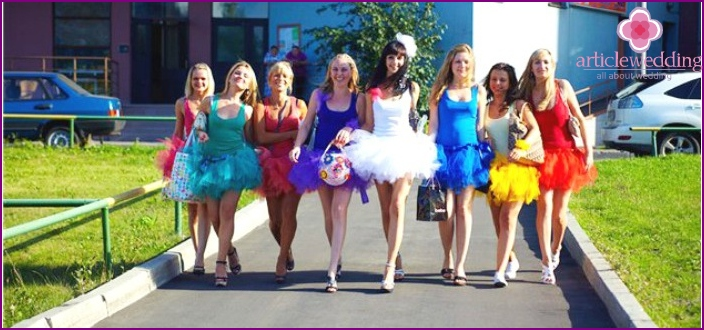 Bachelorette party idea: children's holiday