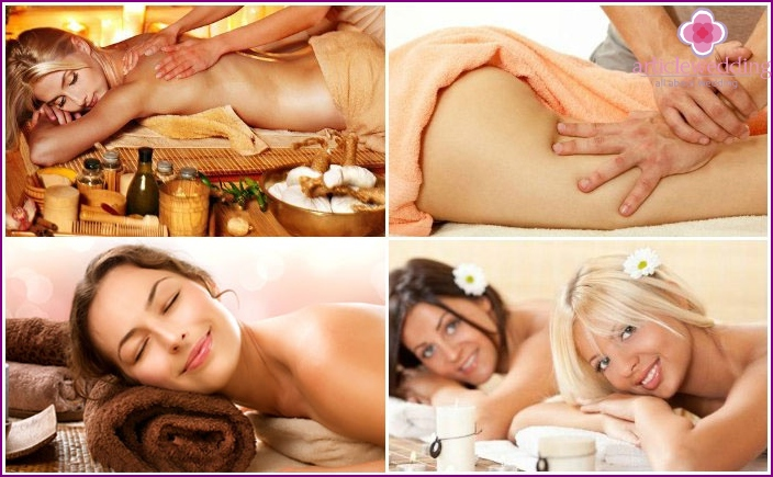Anti-cellulite program for bachelorette party