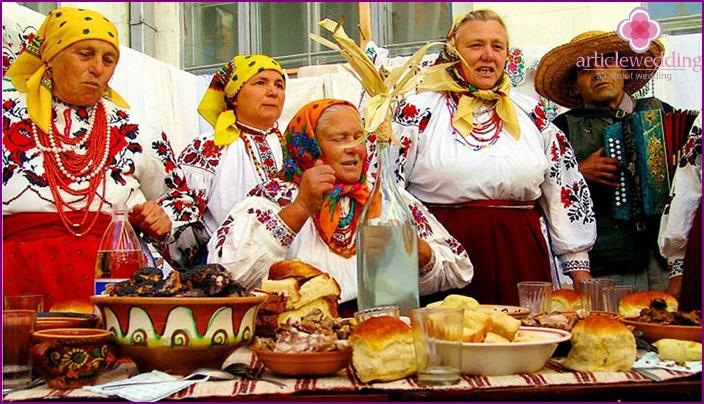 Singing feast on courtship