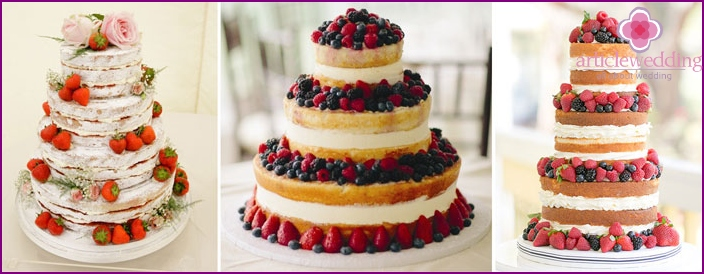 Cake Decor Seeds wedding