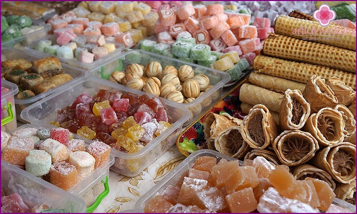 Traditional Wedding sweets east