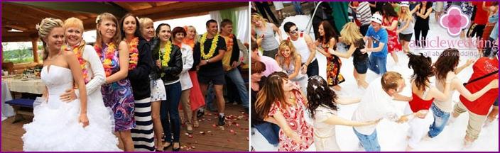 Italian-style wedding celebration