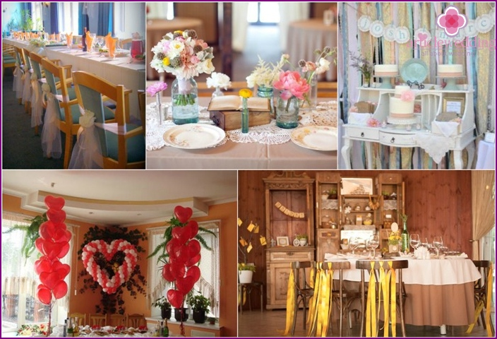 Interior Decorating for wedding home