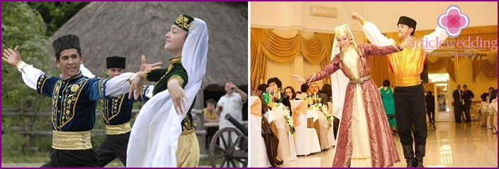 Tatar wedding dance