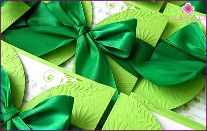 Invitations jade wedding