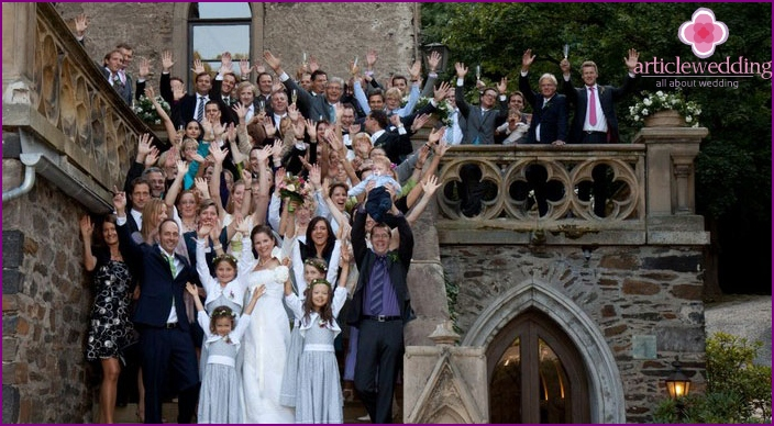 Surprise wedding in Germany