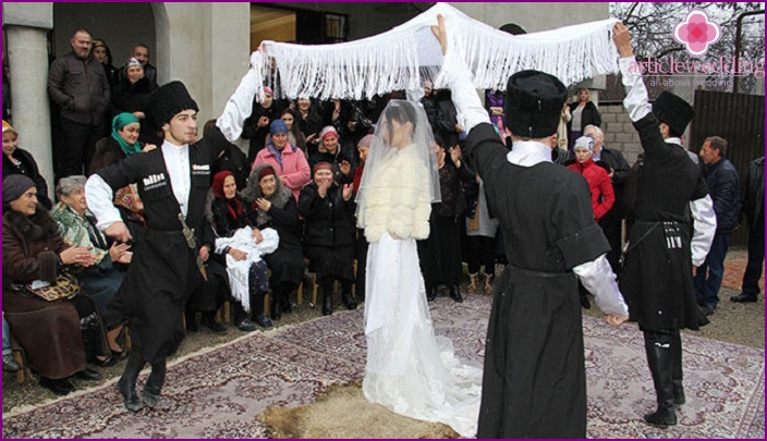A wedding in the Caucasus